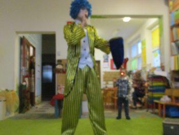Urodziny Miłoszka z clownem