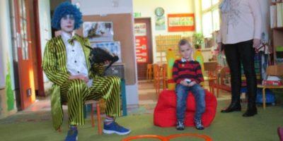 Urodziny Kuby z clownem