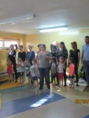 Zajęcia pokazowe z gimnastyki korekcyjnej dla rodziców dzieci młodszych