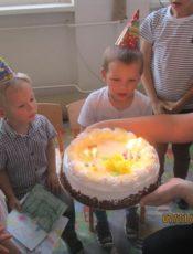 Urodzinki Henia i Artura z Minionkiem