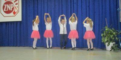 nasi przedszkolacy na konkursie patriotycznym
