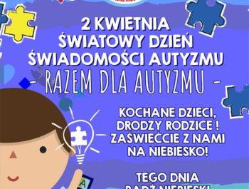 światowy dzień autyzmu – 2 kwiecień