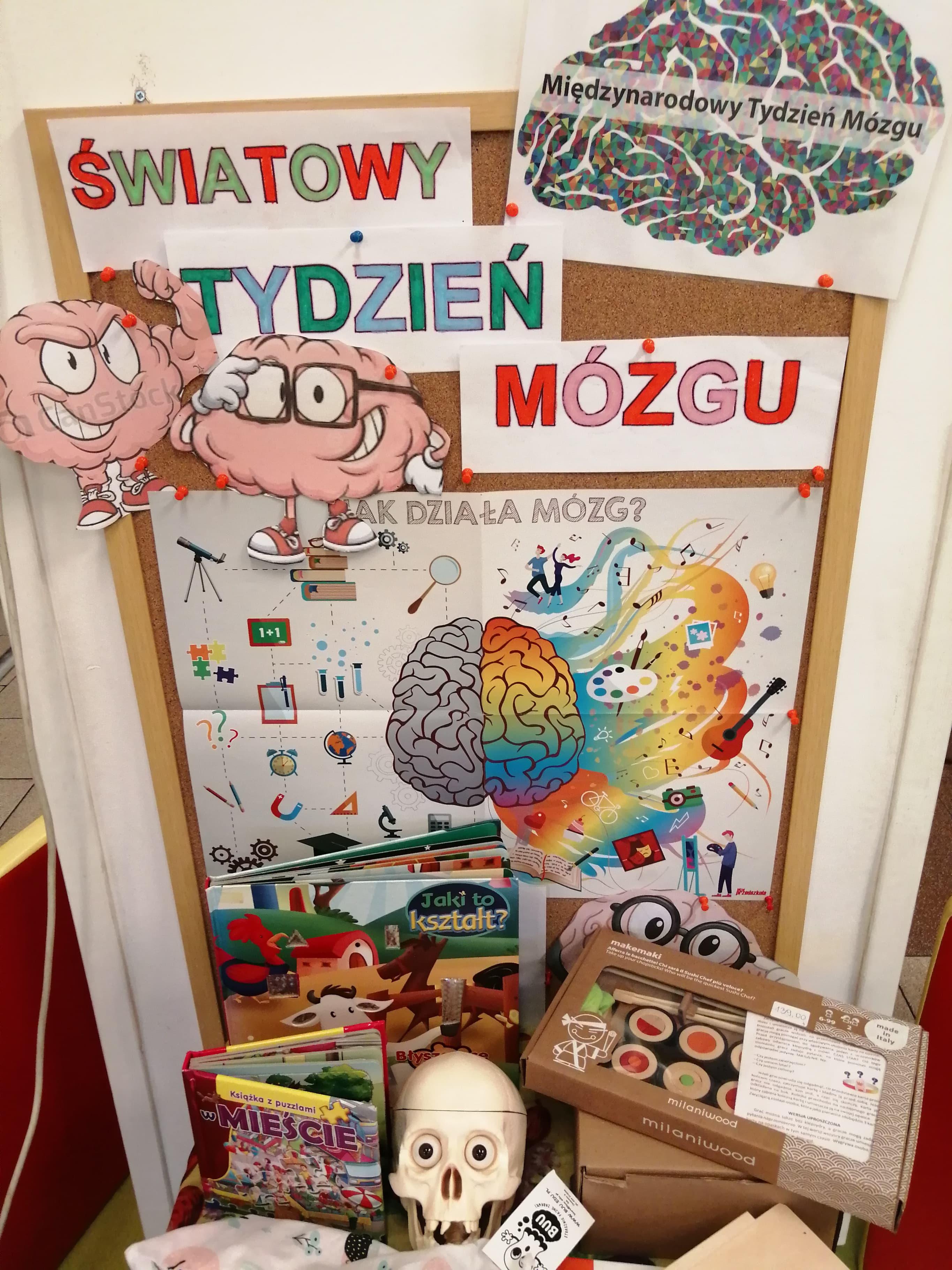 światowy tydzień mózgu – zabawy edukacyjne Muminków